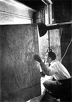 Carter y Tutankamon