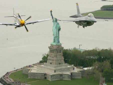 Sobrevolando Nueva York
