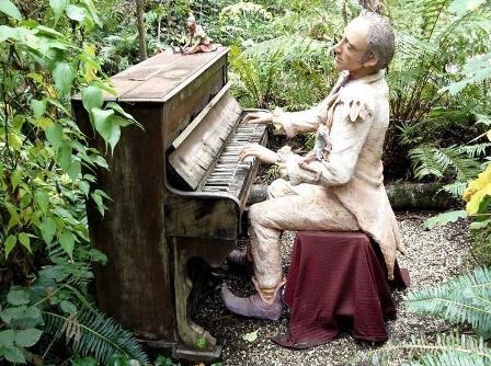 Bruno Torfs, arte en el jardín
