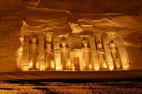 Templo Nefertari en Abu Simbel