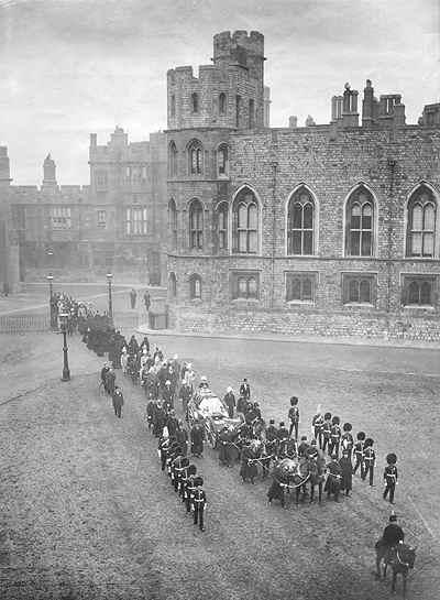 Funeral Reina Victoria