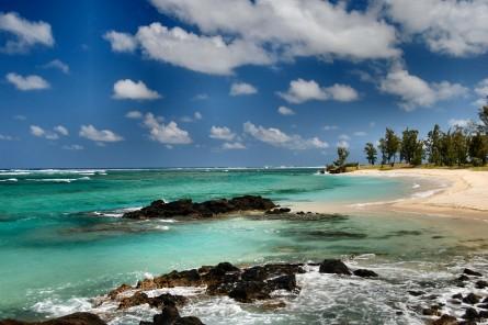 Paisaje de la isla Mauricio