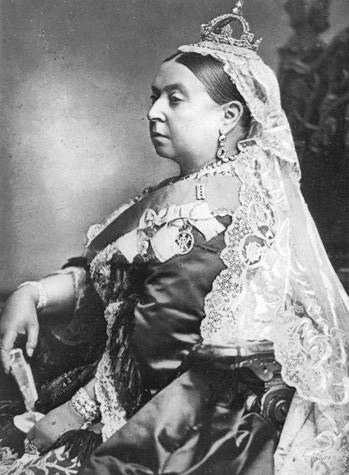 Reina Victoria en 1887