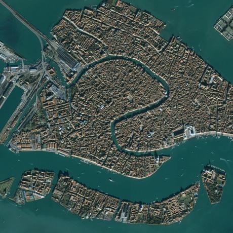 Venecia desde el aire