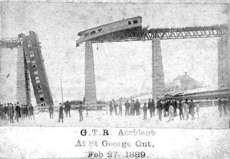 Tren sobre un puente