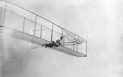 Planeando en 1902