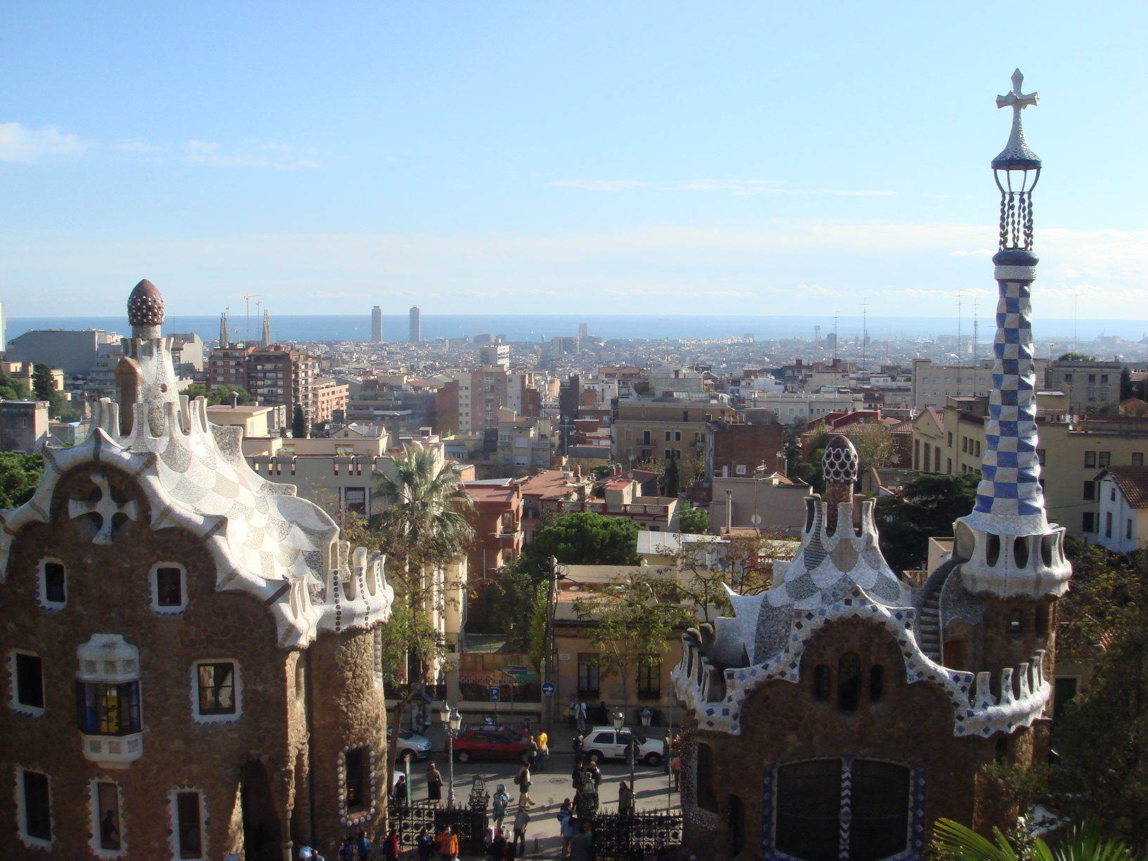 Фото. спания город Барселона фото обоиПросмотров. Барселоны. Дома