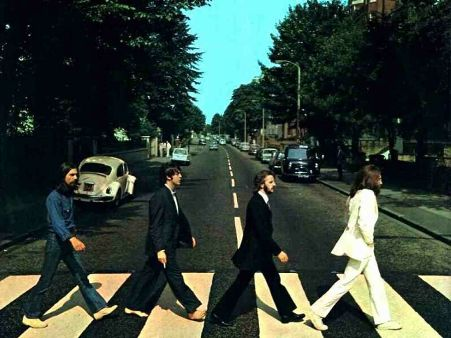 Beatles por Abbey Road
