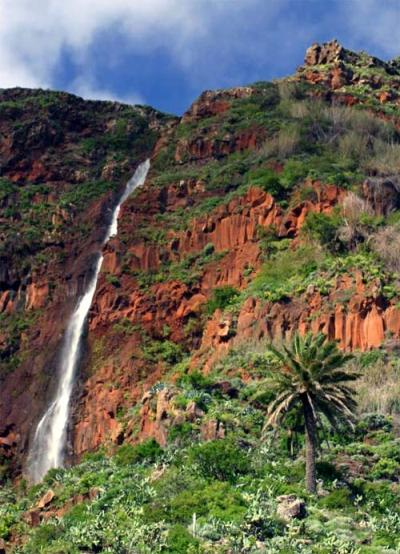 Chorro de Agua en Agulo, la Gomera