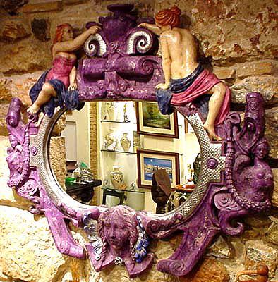 Espejo de alabastro