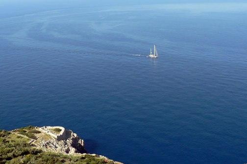 El mar de Capri