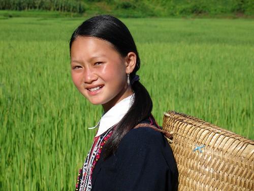 Niña de Vietnam
