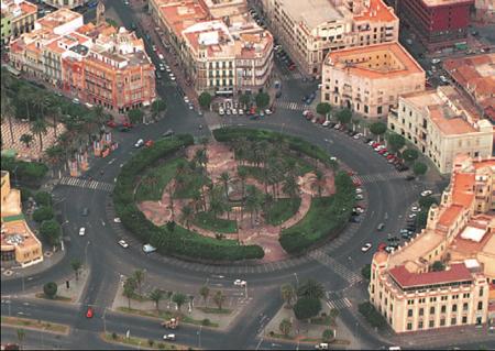 Plaza Central de Melilla