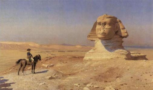 Napoleon y la esfinge