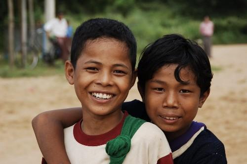 Los Niños de Birmania