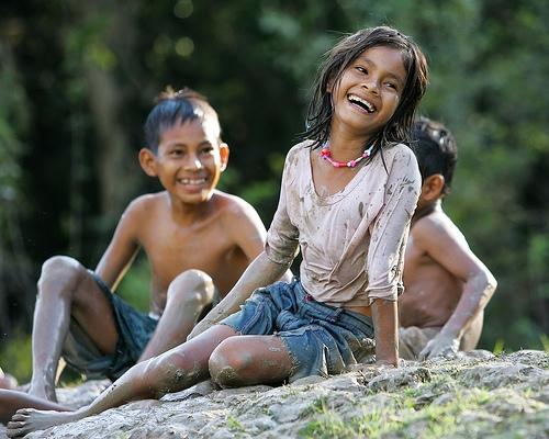 Sonrisas de niños