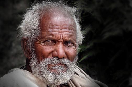 Ojos de anciano