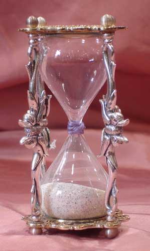 El paso del tiempo en plata