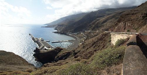 Puerto de la Estaca en el Hierro