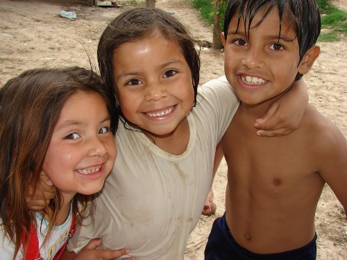 Trio de sonrisas