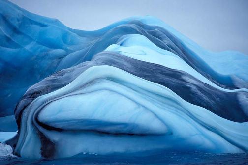 Colores de un iceberg