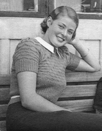Ingrid Bergman de jovencita