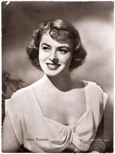 Ingrid Bergman en sus comienzos