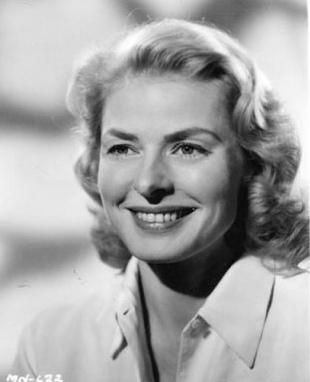 Ingrid Bergman en pleno exito