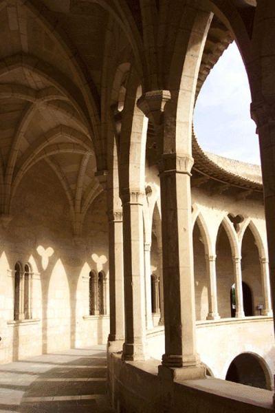 Bellos arcos del Castillo Bellver