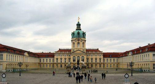Charlottenburg Castillo en Berlin
