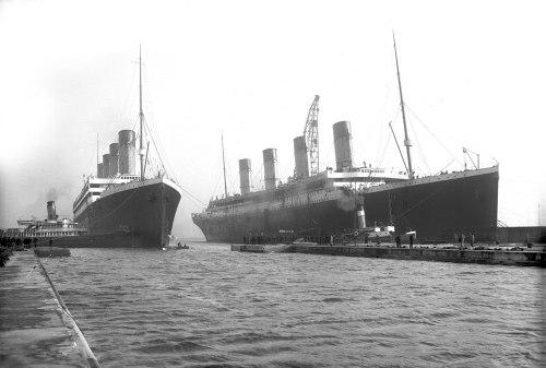 Olympic y Titanic, colosos para el recuerdo