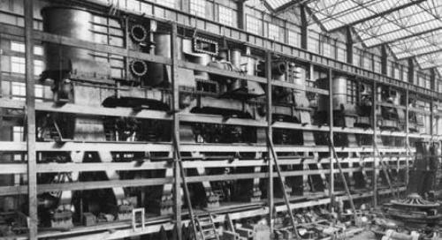 Sala de Maquinas del Titanic