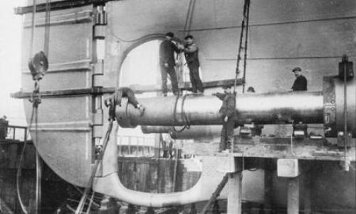 construyendo el titanic, el coloso