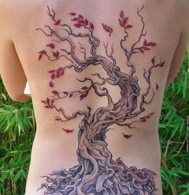 Un tattoo de profundas raices