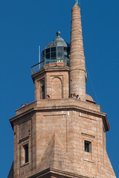 Detalle de la Torre de Hercules