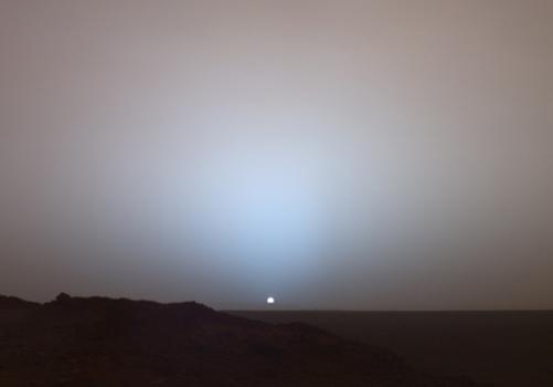 Amanece en Marte