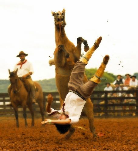 Caída de caballo
