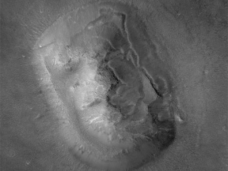 Caras de Marte