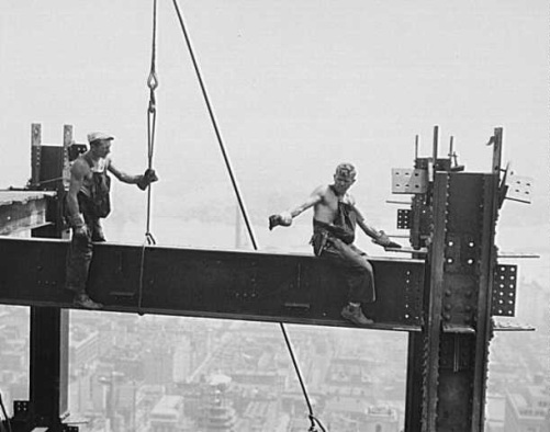 Construccion del Empire State Building