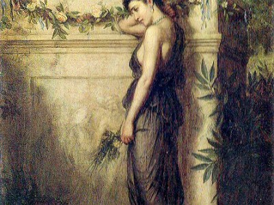 John William Waterhouse, fantasias literarias