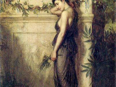 John William Waterhouse, fantasias literarias