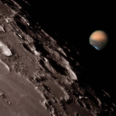 Fotos de un viaje a Marte