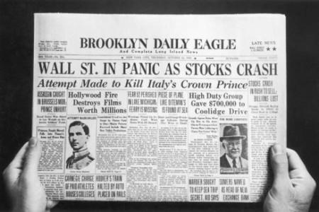 Jueves Negro, el crack bursatil de 1929