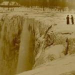 Las Cataratas del Niágara, congeladas