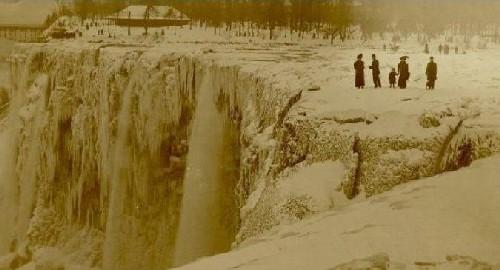 Las Cataratas del Niagara, congeladas