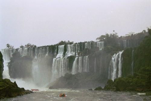 Salto de San Andres en Iguazu