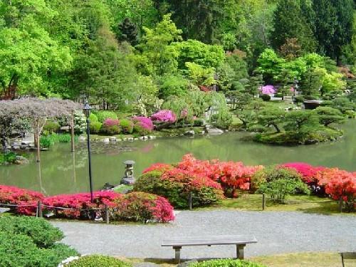 Fotos de jardines japoneses for Paisajes de jardines