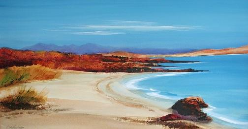 Cuadros de paisajes de Escocia, por Dorothy Bruce
