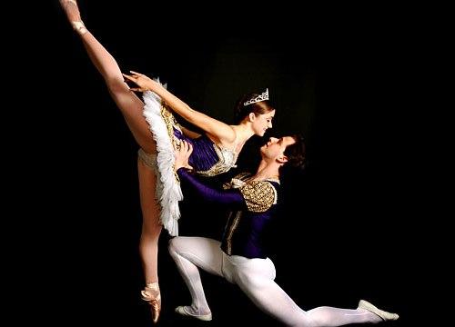 Fotos de ballet, soñando con volar