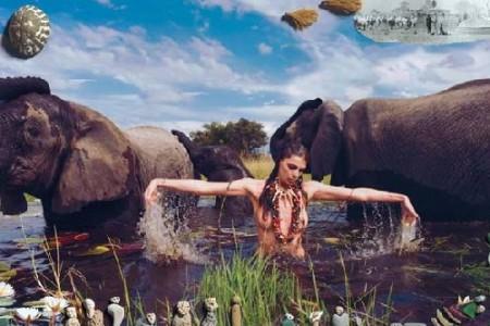 Calendario Pirelli 2009, belleza y fuerza